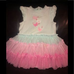 Little Me ruffle dress